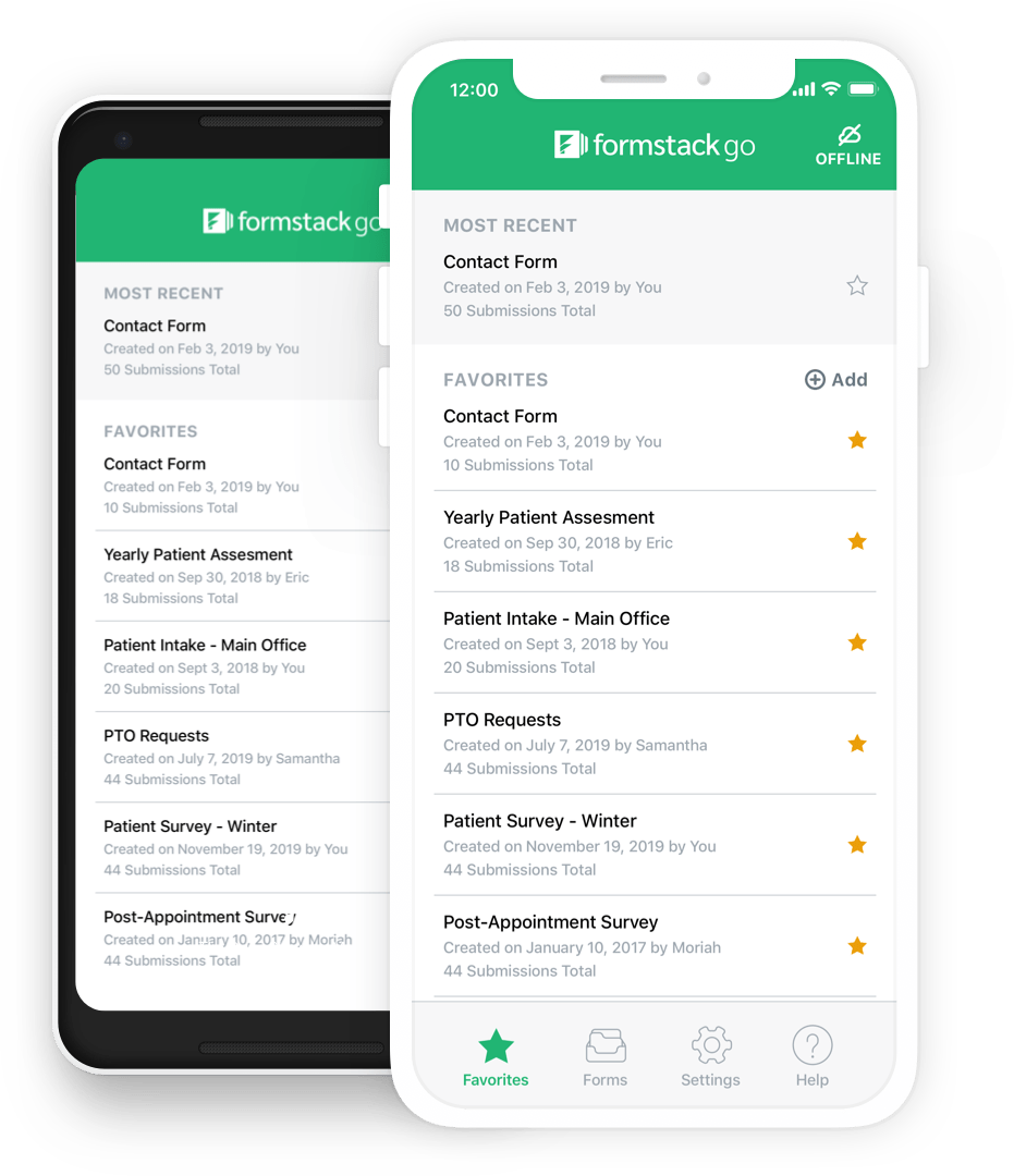 collect offline form submissions from any location formstack