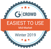 G2 Crowd 2019 Easiest To Use