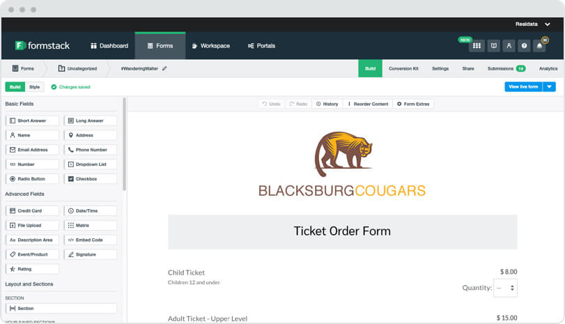 Wordpress Plugin For Contact And Order Forms