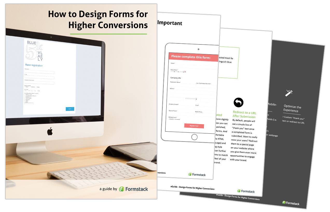 Design Forms for Higher Conversions Graphic