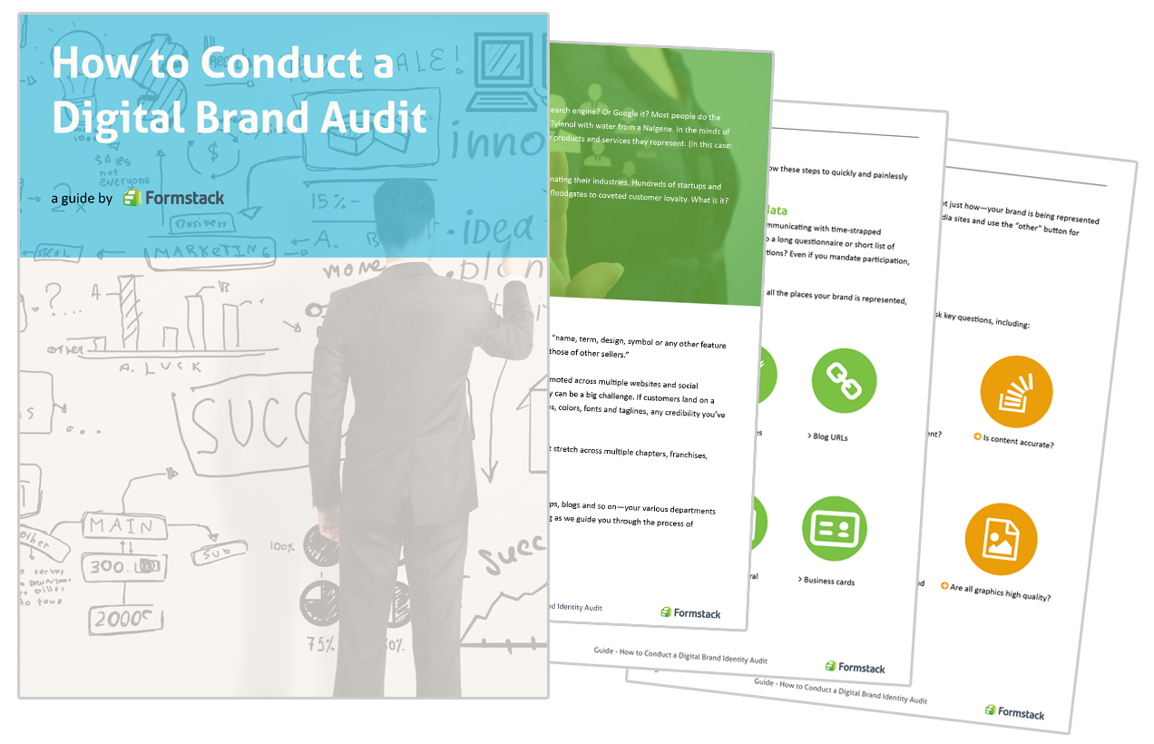 Conduct a Digital Brand Audit Graphic