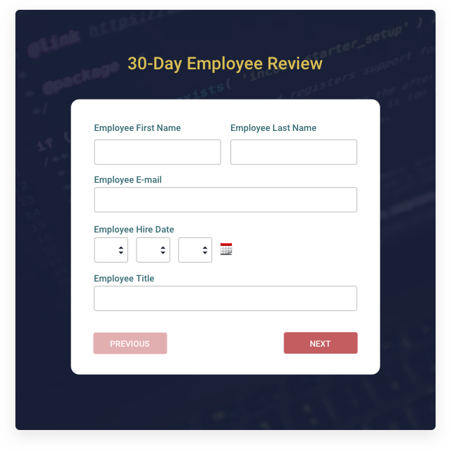 Create your own online form