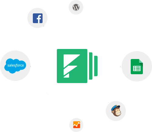Formstack integrations graphic