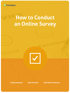 steps to conduct online survey