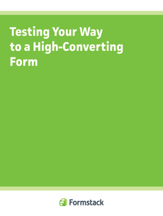 Testing to High-Converting Forms