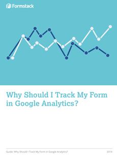 track form with google analytics