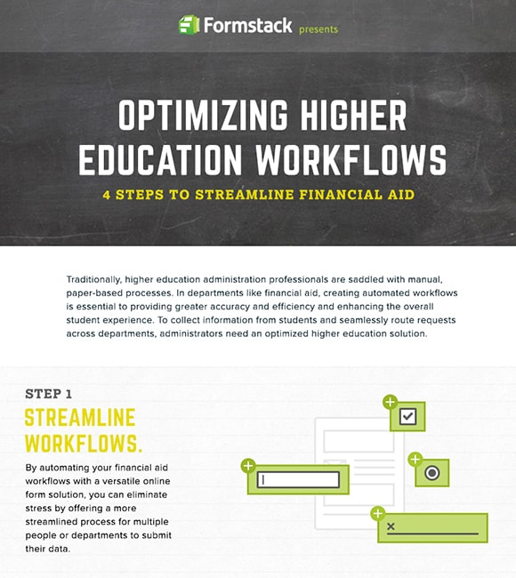 4 Simple Steps to Streamline Financial Aid