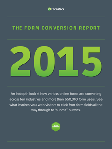 Formstack's 2015 Form Conversion Report