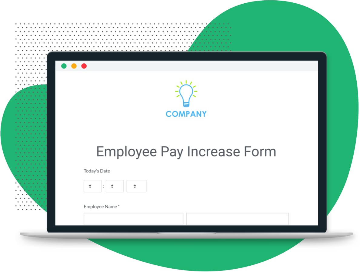 Employee Pay Increase Form Template Formstack
