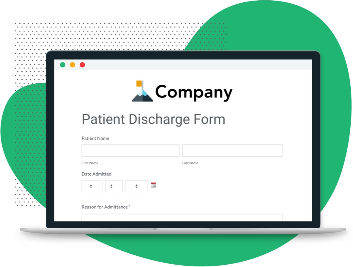 Patient Discharge Form Secure Easy To Use Formstack