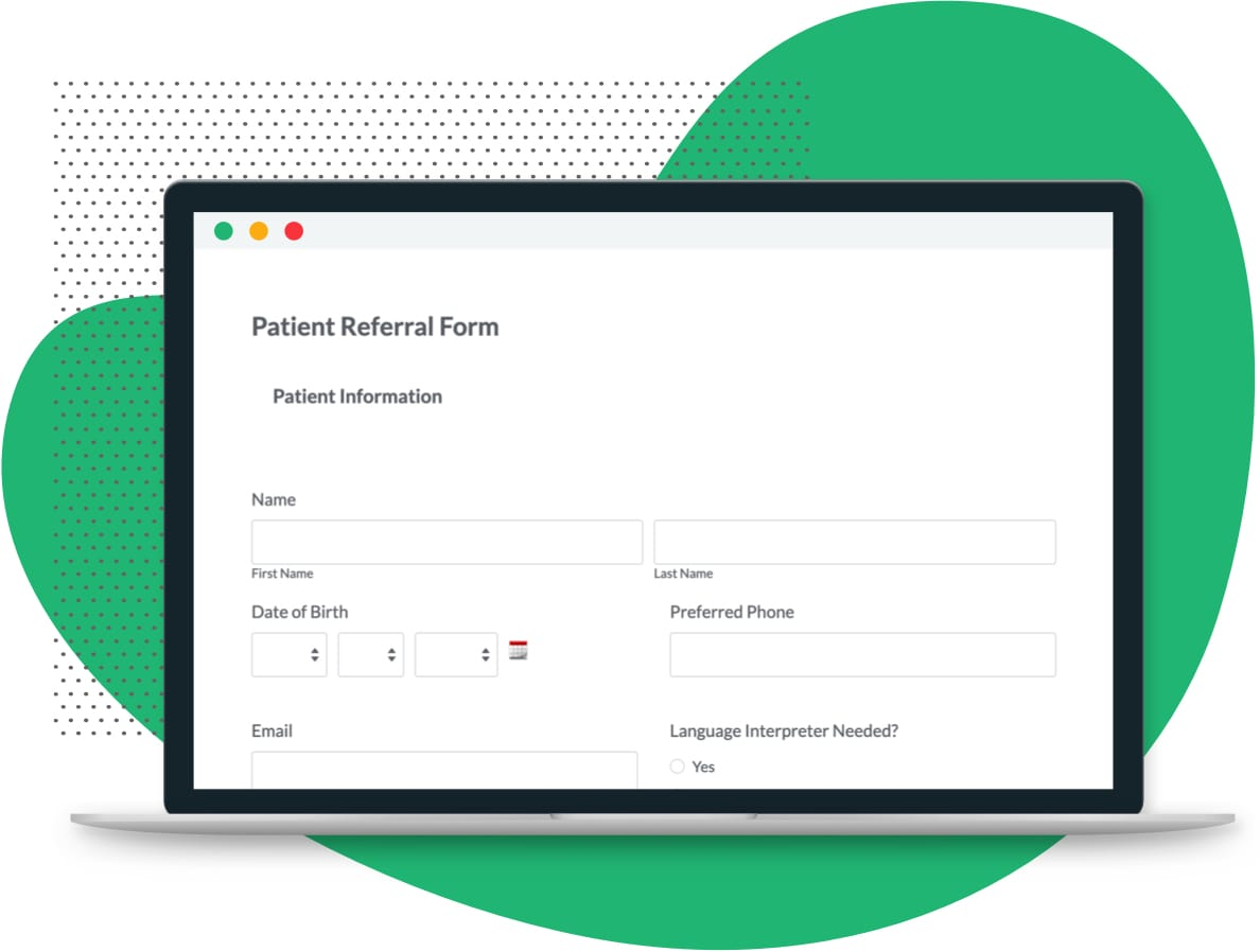 Patient Referral Form Template Formstack