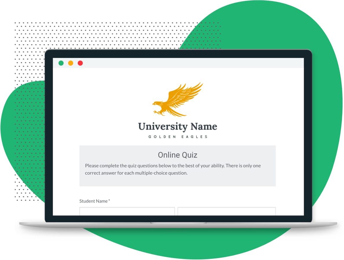 Online Quizzes   Online Quiz Template   Formstack