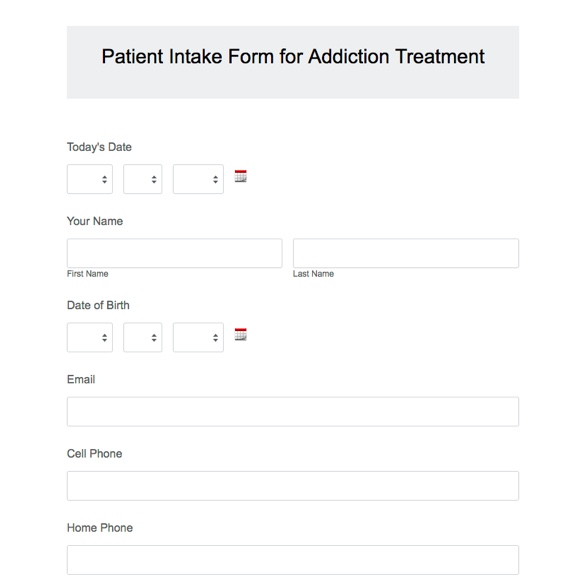 Healthcare forms healthcare form templates formstack pronofoot35fo Choice Image