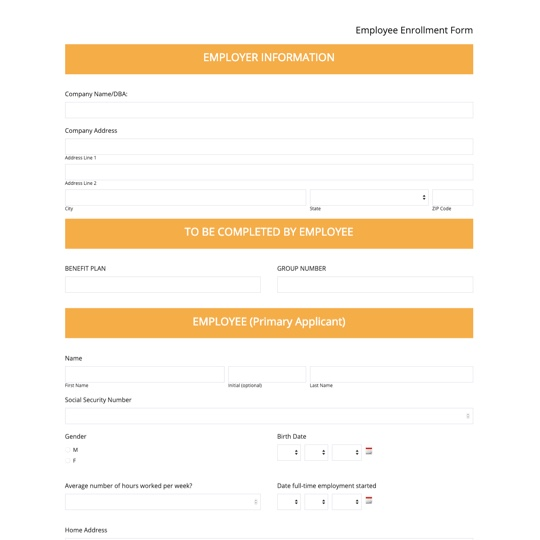 Web Form Templates Web Forms For All Industries Formstack