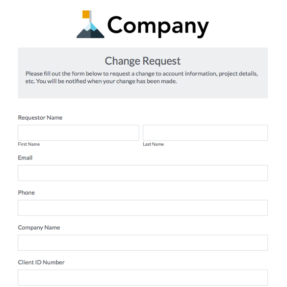 Web Form Templates Customize Use Now – Account Form Template