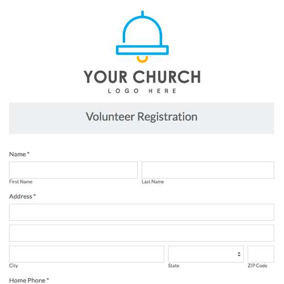 Volunteer Forms Templates  Varilex