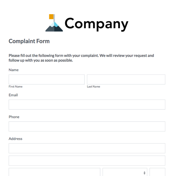 Event Forms Fundraising Form Templates – Vendor Form Template