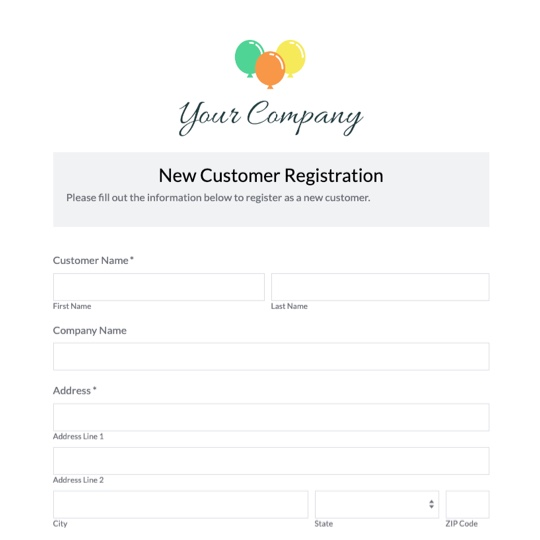 Service Form Format Business Proposal Formats Sample Template Form