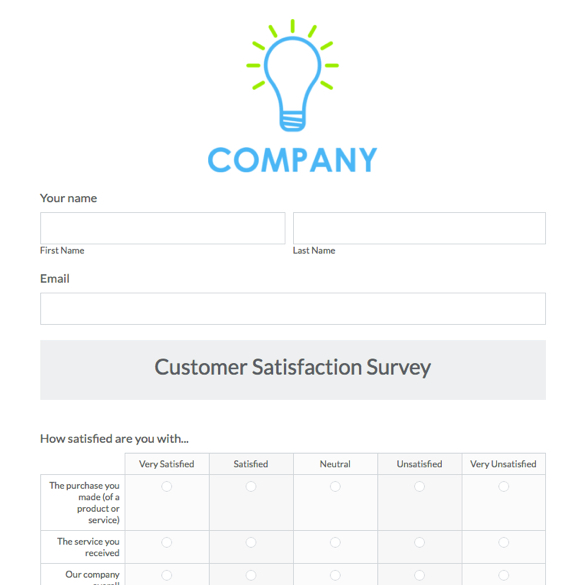 Survey Forms & Templates | Formstack
