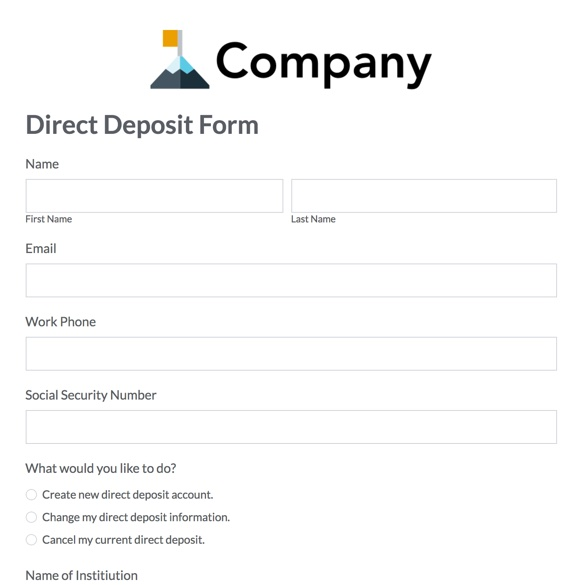 Hr Forms And Templates  Streamline Admin Tasks  Formstack
