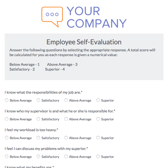 30 day employee evaluation