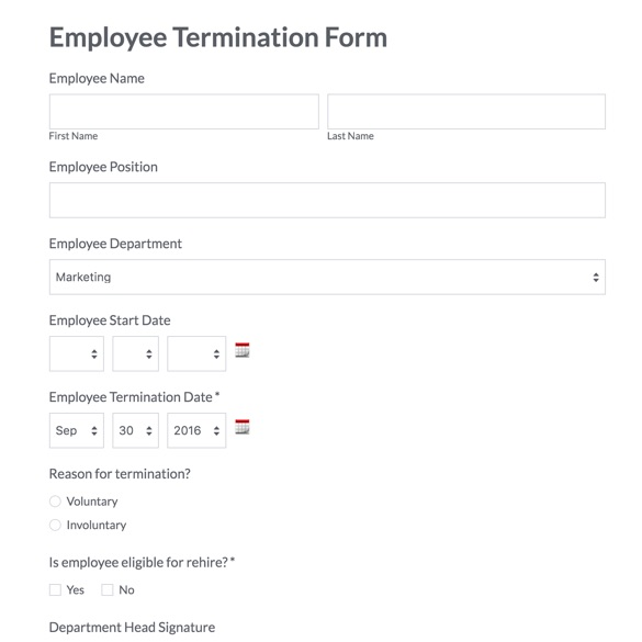 Employee Update Form Employee Information Update Form Sample