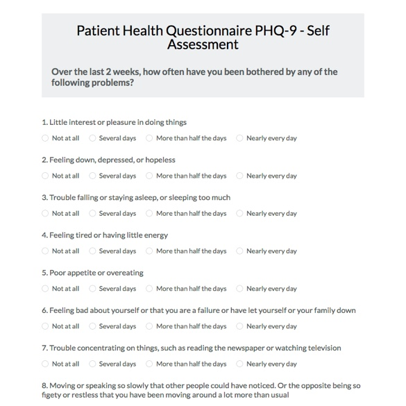 Health Survey Template. Web Form Templates | Customize & Use Now