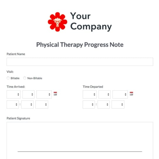 Therapy Forms & Templates | Psych, PT, OT, More | Formstack