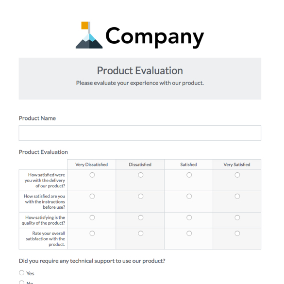 Online Business Forms Templates For Every Department  Formstack