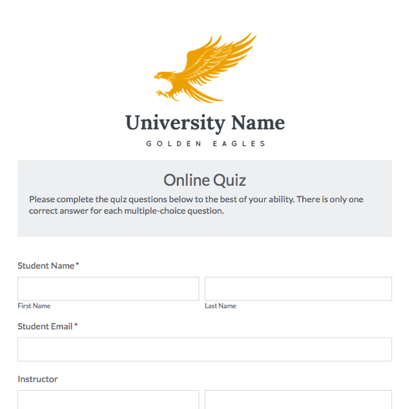 Education Forms & Templates | Formstack