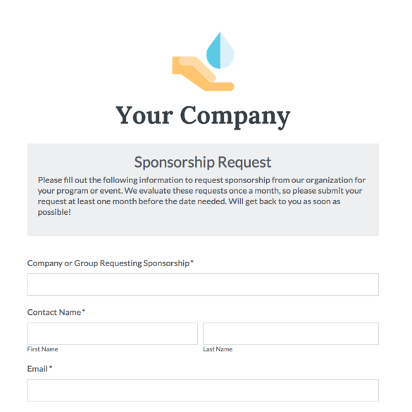 Event Forms & Fundraising Form Templates | Formstack