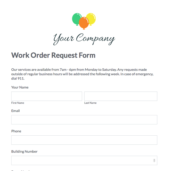 Website Forms & Blog Forms Templates | Ready-To-Use | Formstack